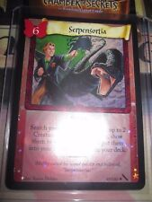 HARRY POTTER TCG CARD CHAMBER OF SECRETS SERPENSORTIA 49/140 RARE FOIL MINT EN