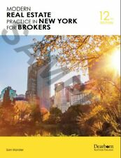 Modern Real Estate Practice in New York for Brokers 12th Edition