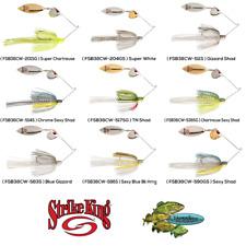 Strike King Spinnerbaits KVD 3/8oz Colorado Willow Choose Any 9 Colors FSB38CW