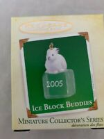 2005 Hallmark Keepsake Ornament Miniature Ice Block Buddies #6 in Series