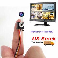 small 600TVL DIY tiny spy Mini screw hidden Pinhole Cam CCTV color video Camera