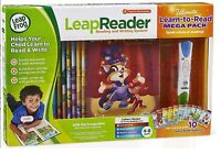 LeapFrog LeapReader System Learn to Read 10 Book Bundle Ages 4+ Toy Boys Girls