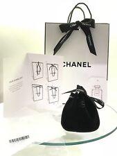 Custodia di velluto Chanel per Catena Anello Orologio in borsa regalo + Scheda di nastro di carta velina