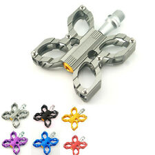 MTB Road Bike Bicycle Butterfly Alloy 9/16'' Sealed Bearing Platform Pedals B605