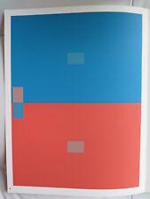 Josef Albers Original Silkscreen Folder VII-2 Left Interaction of Color 1963