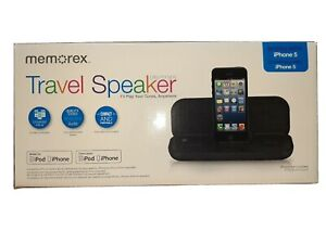 Memorex Ultra Portable Travel Speaker for iPod & iPhone 5 Works w/ iPhone  7/8