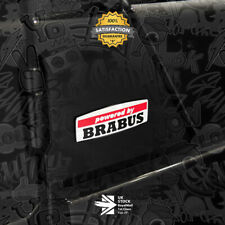 Powered by BRABUS Limited Edition 3D Brushed Badge Emblem S63 C63 G63 GTS 61
