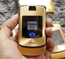 Motorola RAZR V3i - Gold (Unlocked) Mobile Phone Refurbished UK stock