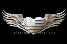 3d Model Stl For Cnc Router Artcam Aspire Usa Flag Love Heart America D281