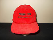 VTG-1990s Graybar Electrical Data Voice corduroy snapback rope hat sku28