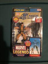 marvel legends Toybiz Wolverine Unmasked Chase/Variant Apocalypse BAF Series