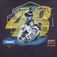 Chase 2004 NASCAR Jimmie Johnson 48 Hendrick Motorsports Lowes Racing T-Shirt XL