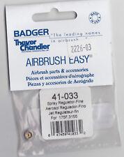BADGER AIRBRUSH PARTS 41-033 JET REGULATOR FINE 175F