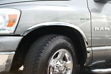 2002-2008 DODGE RAM 1500/2500 STAINLESS STEEL FENDER TRIM (SHORT BED ONLY)