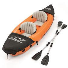 Bestway LITE-RAPID Inflatable Sea Kayak Canoe Boat for Kayaking Fishing Double