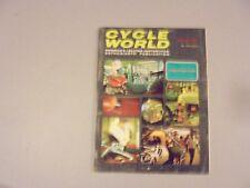 AUGUST 1967 CYCLE WORLD MAGAZINE,SHOW,OSSA 250,BRIDGESTONE 350TTR,EVIL KNIEVEL