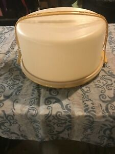 Tupperware Cake Carrier-Harvest Gold(ST-32)