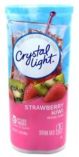 6 12-Quart Canisters Crystal Light Strawberry Kiwi Drink Mix