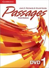 Passages Level 1 DVD by Jack C. Richards DVD-Video Book