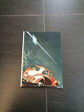 VW Käfer Original Ringbuch Verkaufskatalog Prospekt 1957 32 Seiten Deutschland