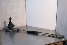 2008 SEAT IBIZA MK5 5 SPEED GEAR SELECTOR WITH LINKAGE CABLES 6Q0711049CG