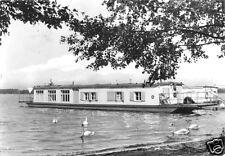 AK, Zaue Kr. Lübben, Wohnboote auf dem Schwielochsee, 1976