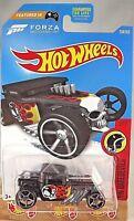 2017 Hot Wheels #208 Daredevils 7/10 BONE SHAKER Black w/OH5sp FORZA Motorsports