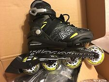 Bladerunner Twist Rollerblade Color Black And Yellow Size 1 To 4