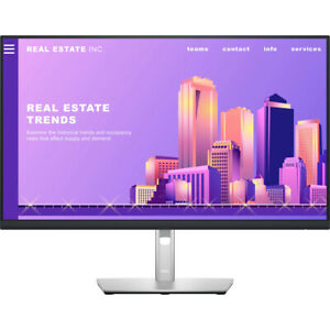 "Dell P2722H 27"" Monitor Full HD 1080p 16:9 IPS Monitor, Black/Silver"
