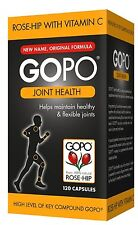 GoPo Joint Health Rosehip Capsules 120s