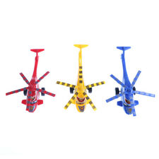 Plastic Air Bus Model Kids Children Pull Line helicopter Mini Plane Toy GiftHGFO