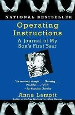 Operating Instructions : A Journal of My Son's First Year by Anne Lamott (2005,…
