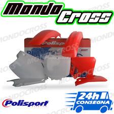 Kit plastiche cross mx POLISPORT Rosso fluo Bianco HONDA CR 125 1997 (97)
