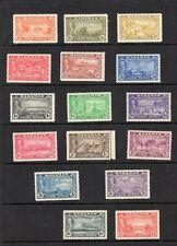 BAHAMAS SG178/93 1948 TERCENTENARY OF ELEUTHERA MLH