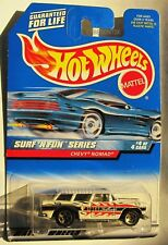 Hot Wheels CHEVY NOMAD Surf n Fun Series #4 1999 MOC sp5 White Station Wagon 964