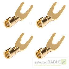 Hicon connecteurs 4 Set Cosses de câble jusqu'à 8mm ² avec câble hi-cta02