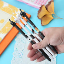 2Pcs Cute Fun Lovely Black Cat Gel Ink Roller Ball Point Pen Korean Gift School