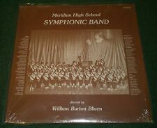 Meridian High School Symphonic Band~William Burton Bliven~USR 8487 LP~FAST SHIP!