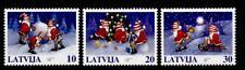 Weihnachten. Weihnachtsmänner. 3W. Lettland 1998