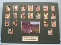 New York Yankees with Roger Maris & Mickey Mantle - 1962 World Series Champions