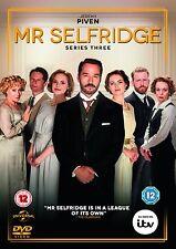 Mr Selfridge Series Season Series 3 DVD R4 Downton Abbey fan New & Sealed