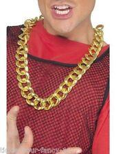 Da Uomo Pesante oro collana catena gangster LIMONE l'onorevole T RAPPER BA FANCY DRESS Bling