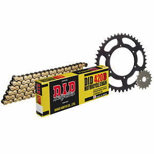 DID Upgrade Chain And Sprocket Kit Suit Aprilia RS50 2011