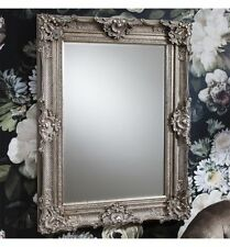 Wooden Rectangle Antique Style Decorative Mirrors