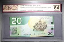 CANADA $20 2006 EZG(9.720-9.990M) - REPLACEMENT - BCS Graded - CHOICE UNC 64