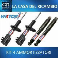 KIT 4 AMMORTIZZATORI WKTORY FIAT CINQUECENTO SEICENTO 0.7 0.9 1.1