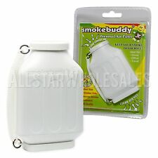 Smoke Buddy Junior Jr WHITE Personal Air Odor Purifier Cleaner Filter