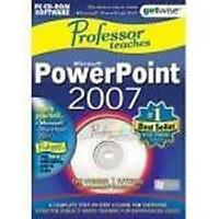 PROFESSOR TEACHES POWERPOINT 2007 PC Teaching Learning  Software