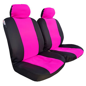 Lady Pink Neoprene 2pcs Universal Size Car Seat Covers For Nissan Patrol 2004-on
