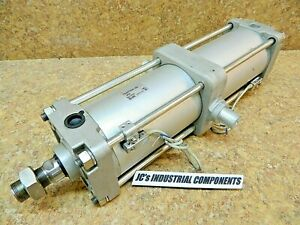 SMC   100 MM  bore  X  310  MM stroke   pneumatic cylinder   CDA2TH100-310